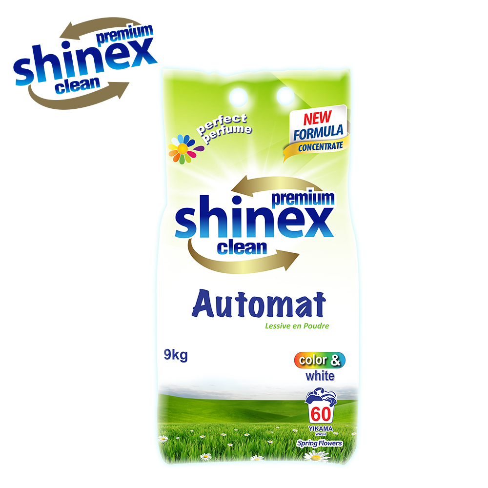 Shinex Matic - Automat Powder Detergent 9 kg for WHITE
