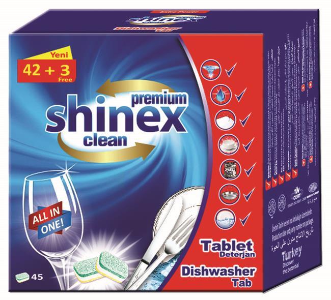 Shinex Dishwasher Tab 45 Pcs