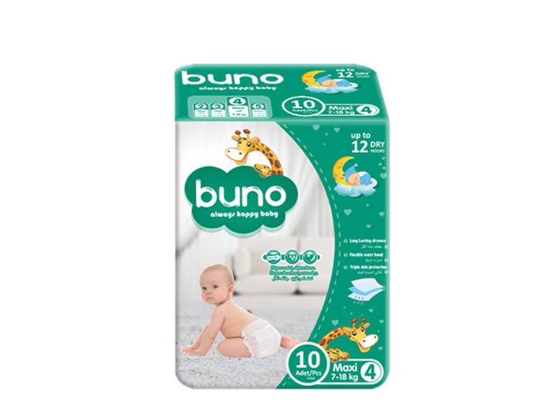 Buno Baby Diapers Maxi 10 Pcs