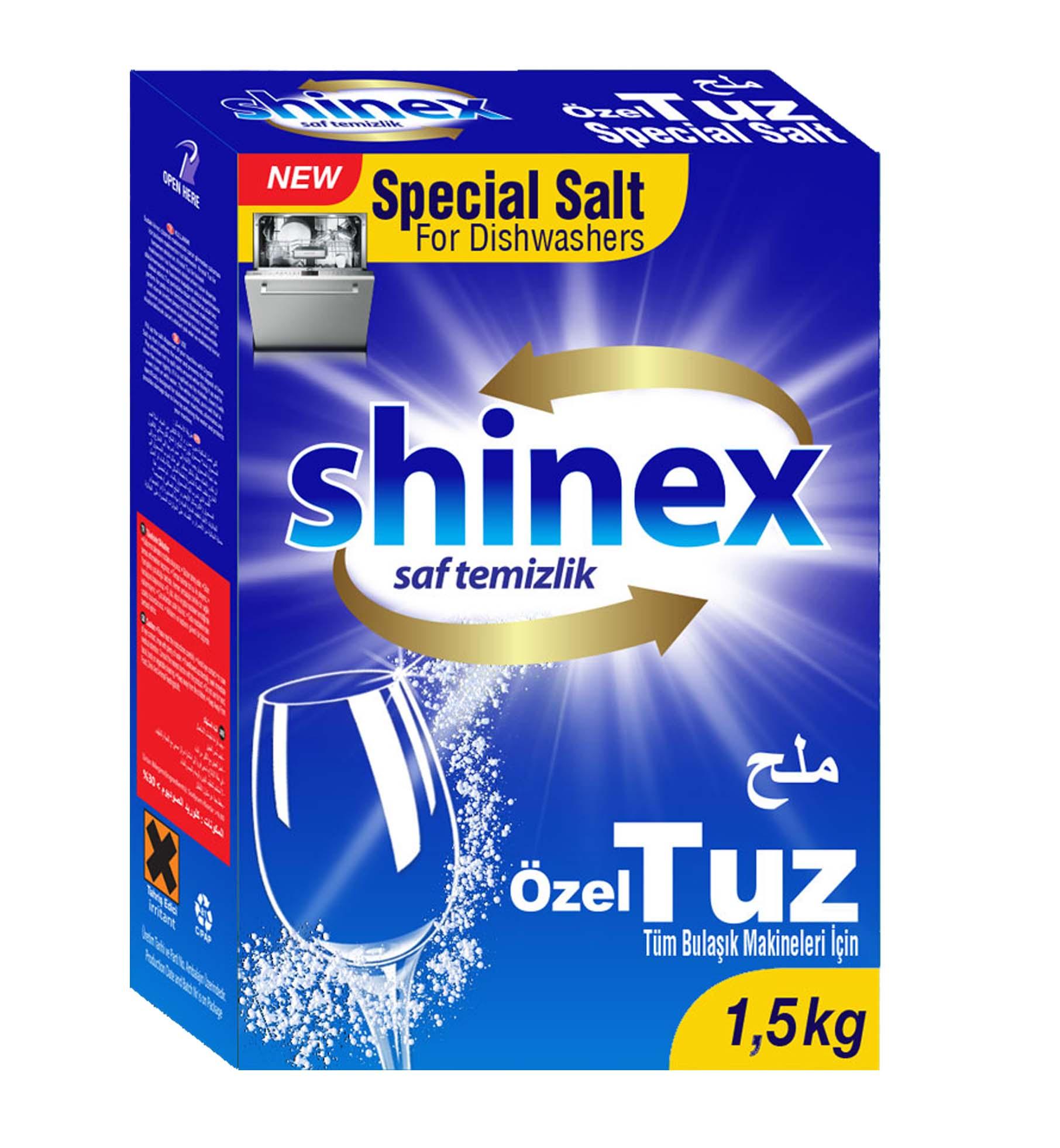 Shinex Dishwasher Salt 1,5 Kg