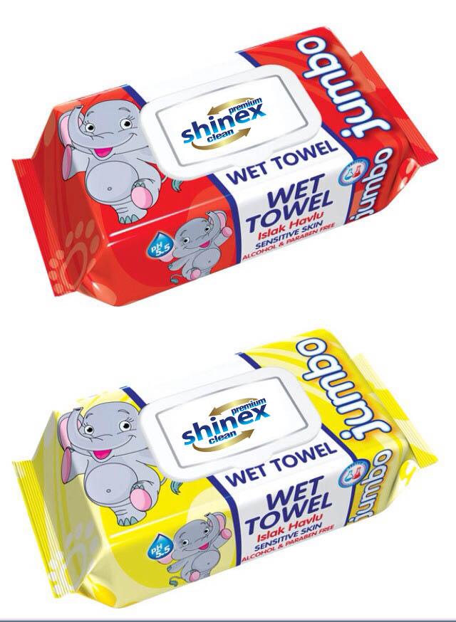 Baby Wet Wipes with lid Jumbo