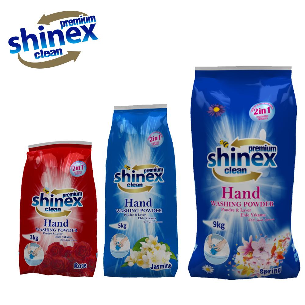 Shinex Hand Washing Detergent 3kg - 5 kg - 9 kg