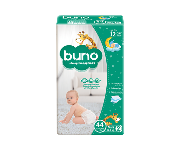 Buno Baby Diapers Mini 44 Pcs