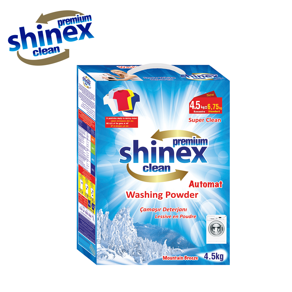 Shinex Matic - Automat Powder Detergent 4,5 Kg - Box