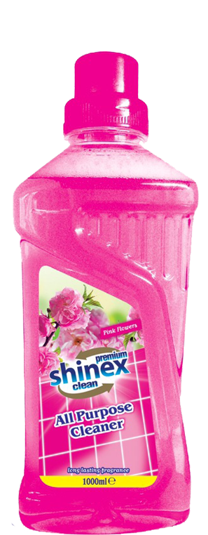 Shinex All Purpose Cleaner Pink Flower 1 L